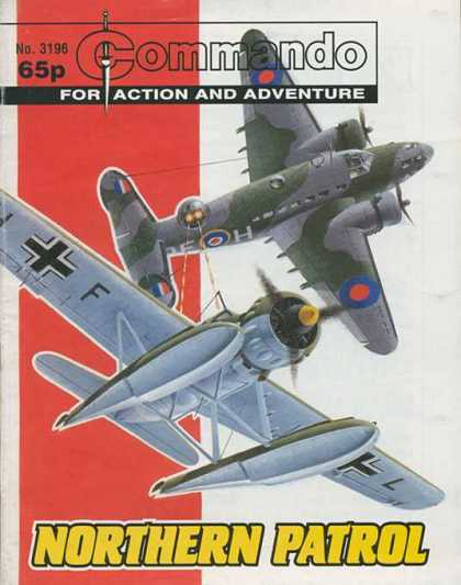 Commando 3196 - Dog Fight - Aip Planes - Fighters - Wings - Gliders