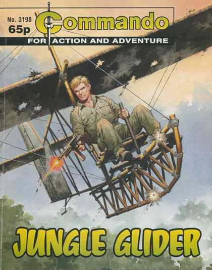 Commando 3198 - No 3198 - Jungle Glider - Glider - Soldier - Gun