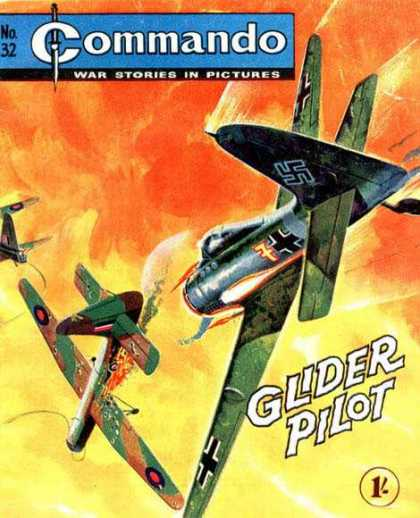 Commando 32 - World War Ii - Airplane - German - Glider Pilot - Air War
