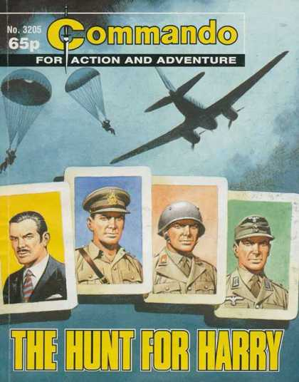 Commando 3205 - Commando - For Action And Adventure - The Hunt For Harry