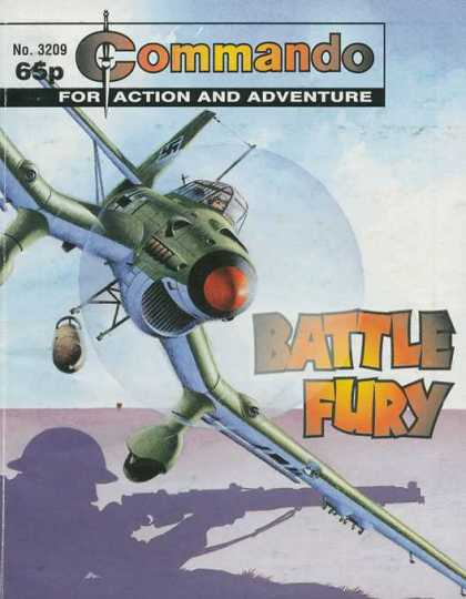 Commando 3209 - Battle Fury - Airplane - Missiles - Wheels - Soldier