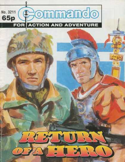 Commando 3211 - Action - Adventure - Sword - Hero - War