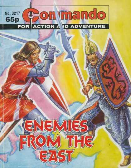 Commando 3217 - Enemies From The Past - Shields - Swords - Helmets - Battles