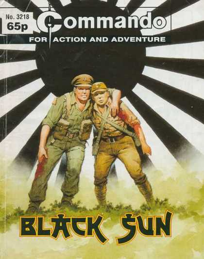 Commando 3218 - Army - Black Sun - Racial Stereotype - Injury - Uniforms