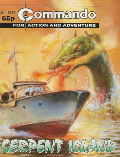 Commando 3223 - 3223 - Dragon - Boat - Serpent - Island