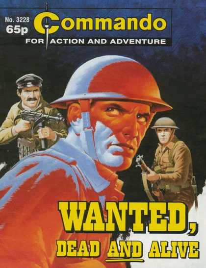 Commando 3228 - For Action And Adventure - Wanted - Dead An Alive - Soldier - Military
