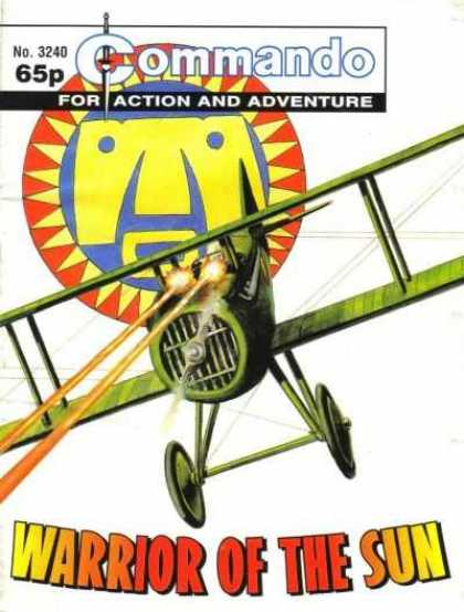 Commando 3240 - For Action And Adventure - Airplane - Shooting - Warrior Of The Sun - Guns