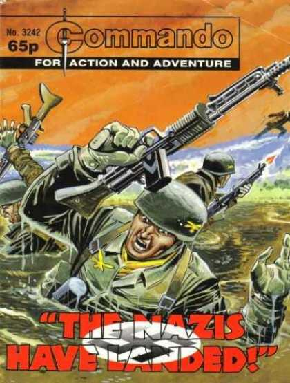Commando 3242 - No3242 - Action - Adventure - Gun - 65p