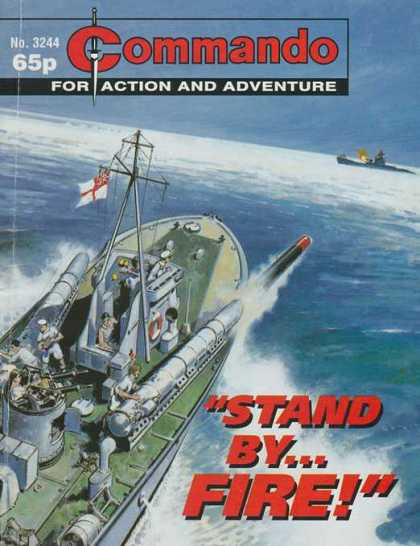 Commando 3244 - Battleships - Sea - Sailor - Flag - Ships Mast