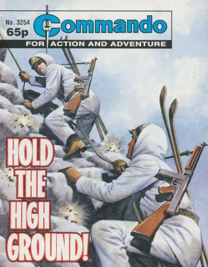 Commando 3254 - Hold The High Ground - Commando - Gun - Mountain Climbing - For Action And Adventure