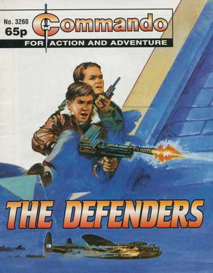 Commando 3260 - No 3260 - 65p - For - Action - Adventure