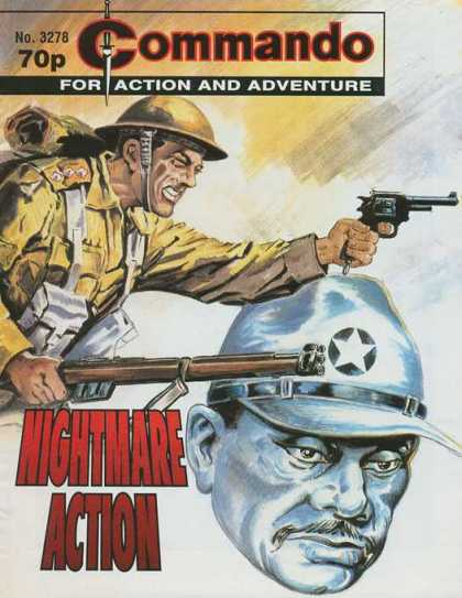 Commando 3278 - For Action And Adventure - Gun - Helmet - Soldier - Nightmare Action