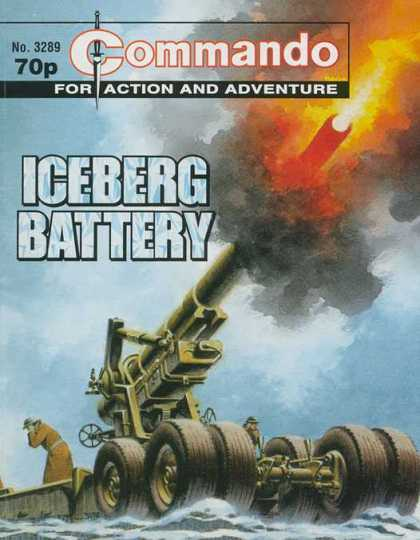Commando 3289 - Iceberg Battery - Gun - War - Fire - Shooting