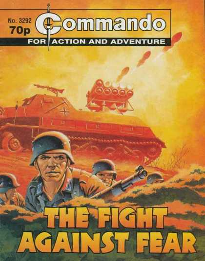 Commando 3292 - Tank - War - Fear - Soldier - Action