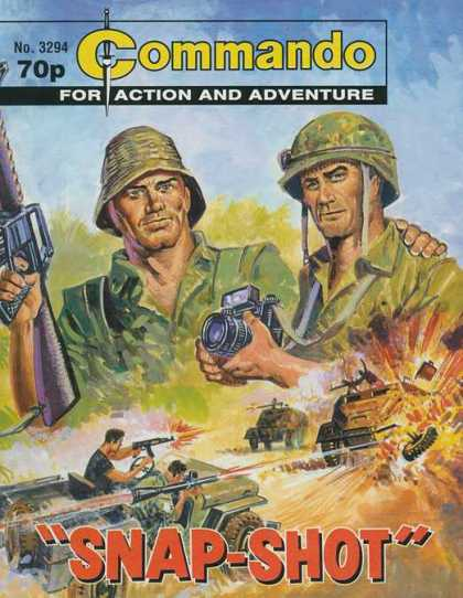 Commando 3294 - Snap-shot - Army - Guns - Camera - Explosion