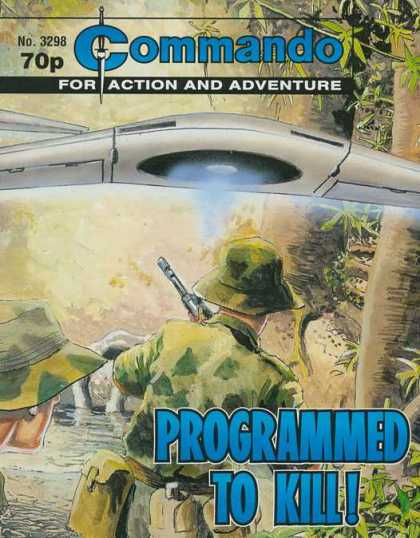 Commando 3298 - Commando - For Action And Adventure - Programmed To Kill - Ufo - Soldier