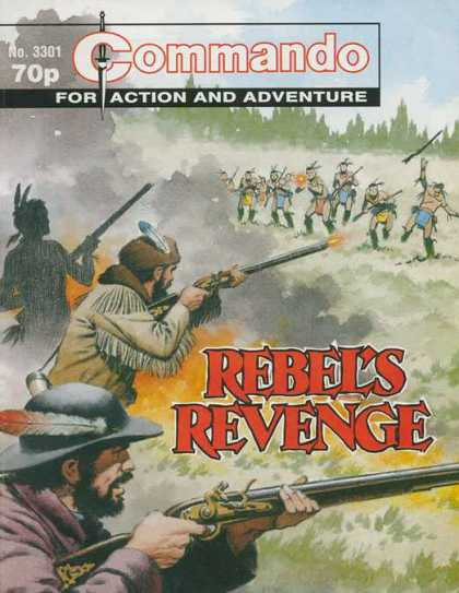 Commando 3301 - Rebels Revenge - Indians - Cowboys - Rifles - Gunfire