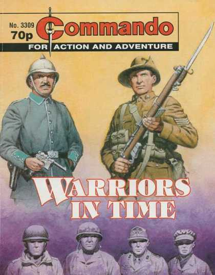 Commando 3309 - No3309 - 70p - Warriors In Time - For Action And Adventure