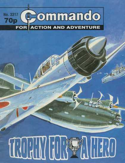 Commando 3317 - Action - Adventure - Trophy - Hero - Plane