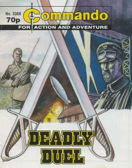 Commando 3368 - For Action And Adventure - Sword - Deadly Duel - Missle - Army