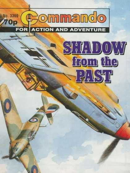 Commando 3369 - Shadow From The Past - Fire - Military - Plane - Crash