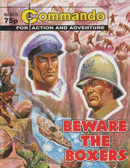 Commando 3375 - For Actions And Adventure - Beware Of Boxers - Soldiers - No 3375 - Canyon