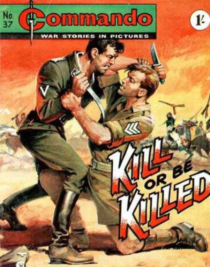 Commando 37 - Soliders - Knifes - Gun - Horse - Desert