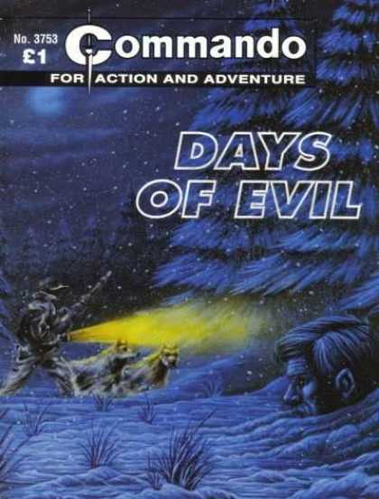 Commando 3753 - For Action And Adventure - Days Of Evil - Tree - Snow - Head