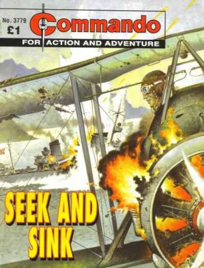 Commando 3779 - Action And Adventure - Seek And Sink - 3779 - Plane - Explosion