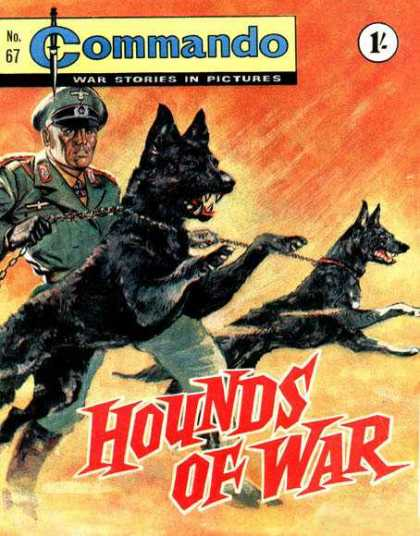 Commando 67 - War Stories In Pictures - Dog - Soldier - Hounds Of War - Chain