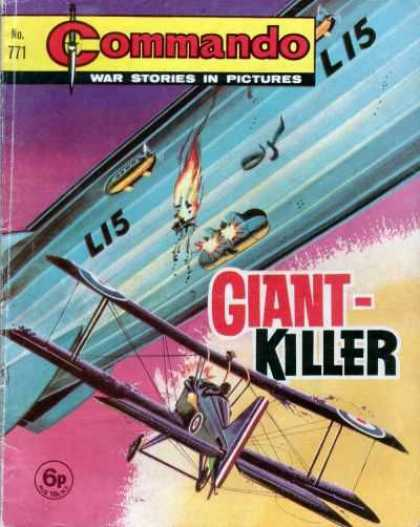 Commando 771 - No771 - Li5 - Giant Killer - 6p - War Stories In Pictures
