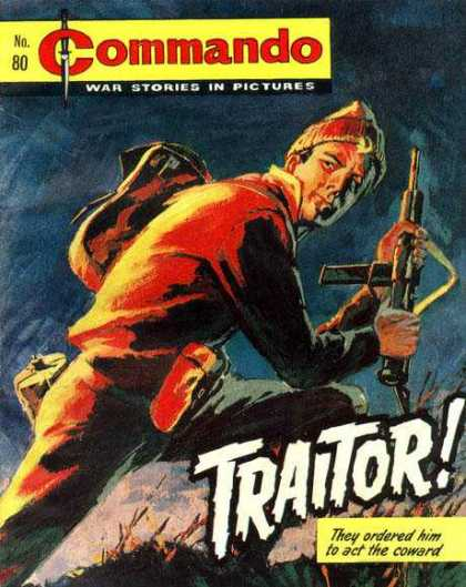 Commando 80 - War Stories - Soldier - Gun - Traitor - Escape