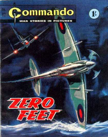 Commando 82 - War Stories - Planes - Zero Fleet - Ocean - Commando