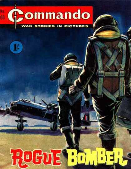 Commando 88 - War Comic - British - Plane - Rogue Bomber - World War Ii