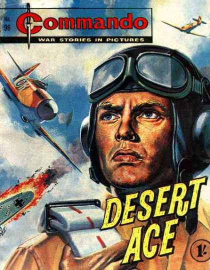 Commando 96 - War Stories - Airplanes - Explosion - Desert Ace
