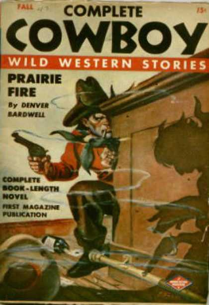 Complete Cowboy Wild Western Stories - Fall 1943