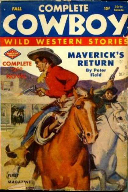 Complete Cowboy Wild Western Stories - Fall 1944