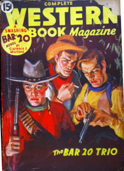 Complete Western Book Magazine - 3/1935