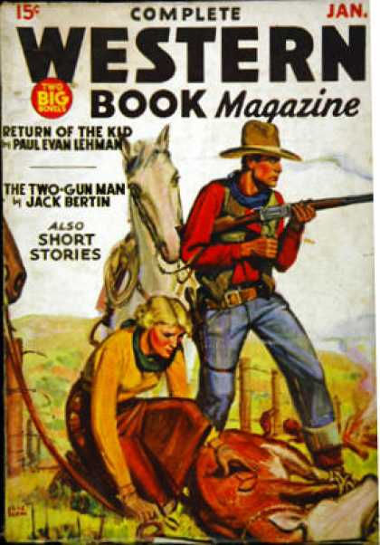 Complete Western Book Magazine - 1/1936