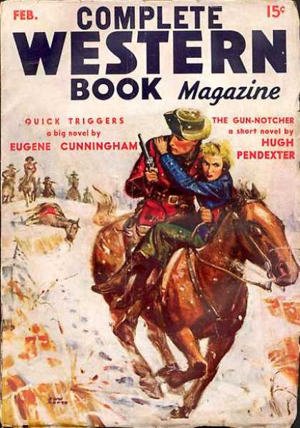Complete Western Book Magazine - 2/1936