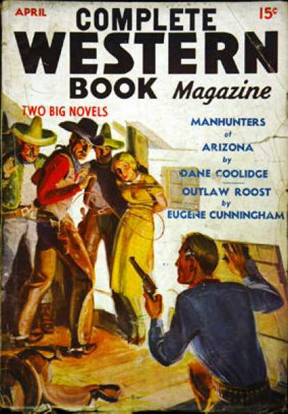 Complete Western Book Magazine - 4/1936