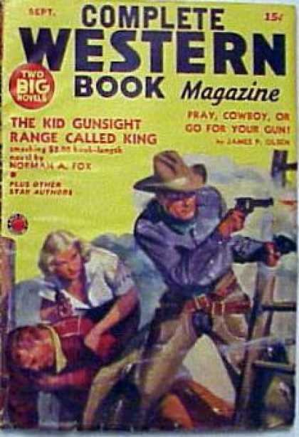 Complete Western Book Magazine - 9/1940
