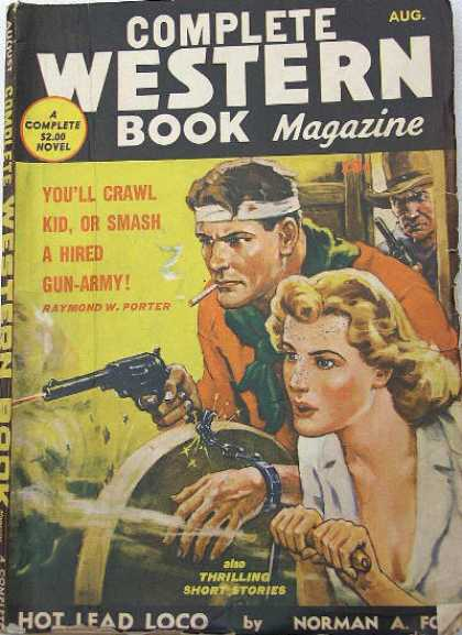 Complete Western Book Magazine - 8/1942