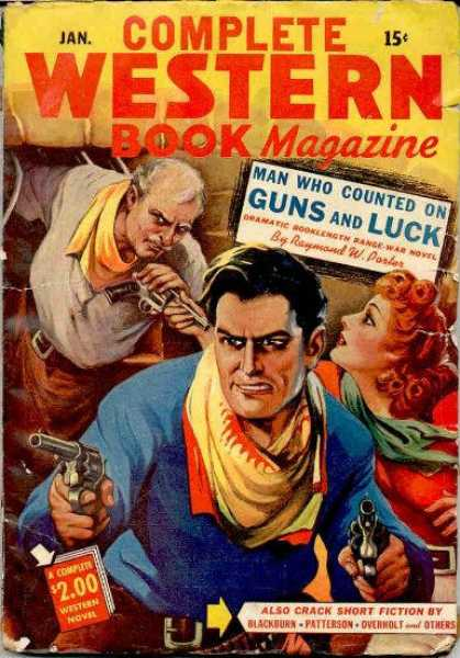 Complete Western Book Magazine - 1/1944