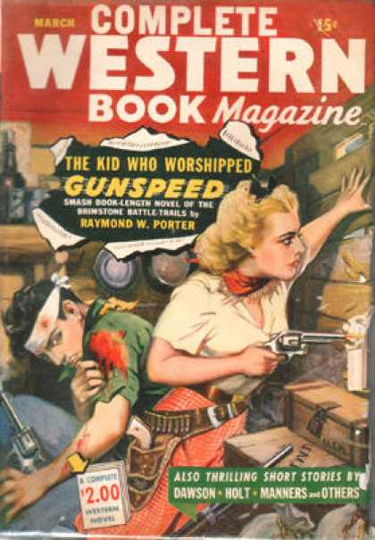 Complete Western Book Magazine - 3/1944