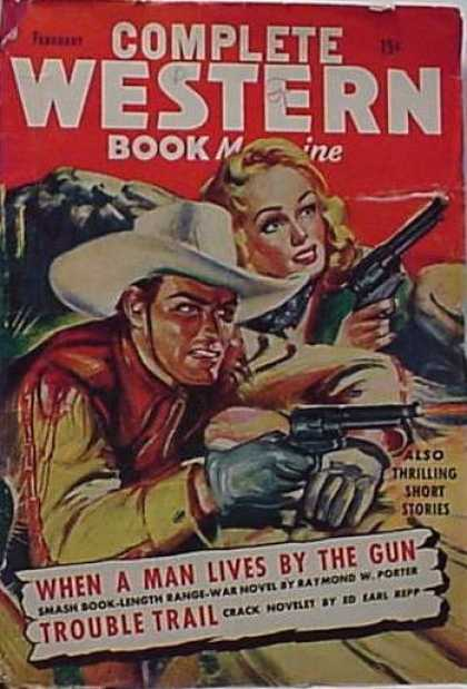 Complete Western Book Magazine - 2/1945