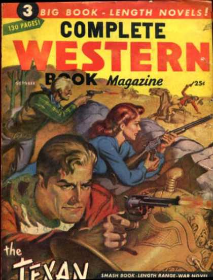 Complete Western Book Magazine - 10/1947