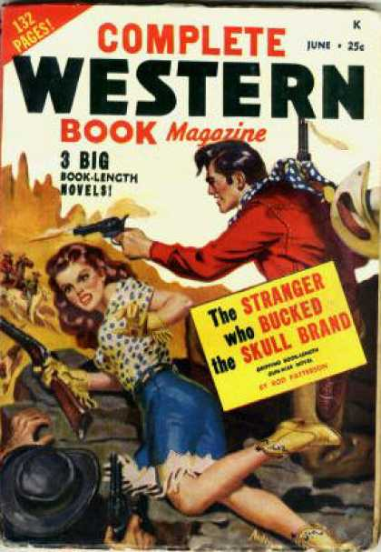 Complete Western Book Magazine - 6/1949