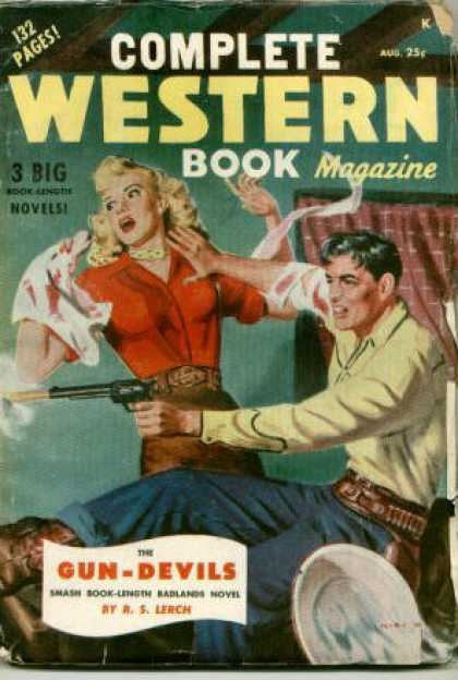 Complete Western Book Magazine - 8/1949