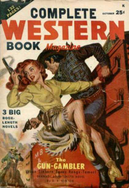 Complete Western Book Magazine - 10/1949